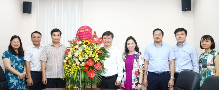 Lãnh đạo Bộ KH&ĐT chúc mừng Báo Đấu thầu nhân ngày Báo chí cách mạng Việt Nam ảnh 1