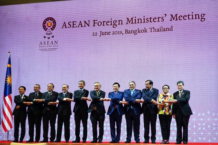 Phó Thủ tướng Phạm Bình Minh dự Hội nghị Bộ trưởng Ngoại giao ASEAN ảnh 1