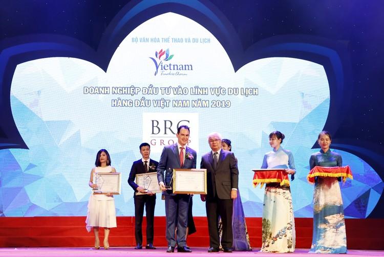 Tập đoàn BRG được vinh danh nhiều giải tại Giải thưởng Du lịch Việt Nam 2019 ảnh 1