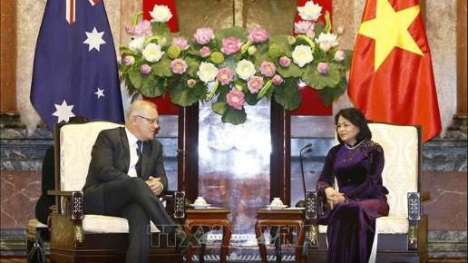 Chủ tịch Quốc hội, Phó Chủ tịch nước hội kiến Thủ tướng Australia ảnh 2
