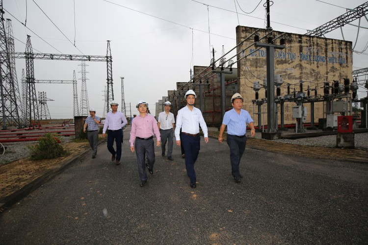 Phó TGĐ EVNNPT Bùi Văn Kiên kiểm tra tiến độ ĐZ 500 kV Dốc Sỏi – Pleiku 2 ảnh 10