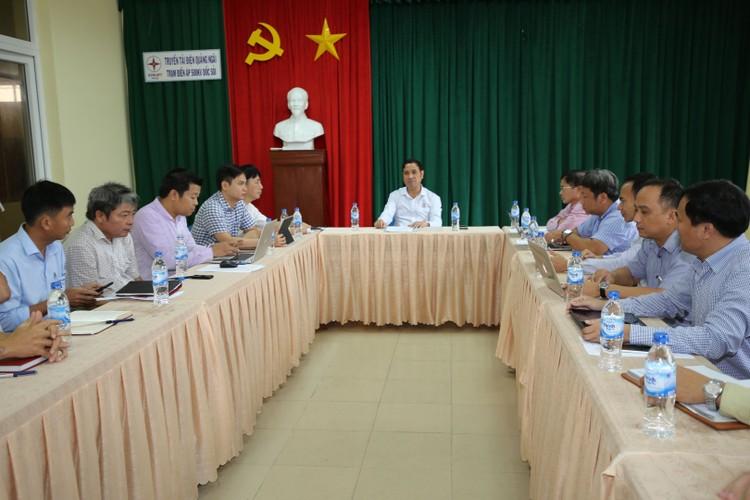 Phó TGĐ EVNNPT Bùi Văn Kiên kiểm tra tiến độ ĐZ 500 kV Dốc Sỏi – Pleiku 2 ảnh 2