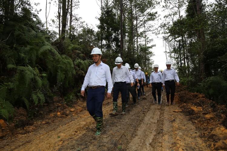Phó TGĐ EVNNPT Bùi Văn Kiên kiểm tra tiến độ ĐZ 500 kV Dốc Sỏi – Pleiku 2 ảnh 4