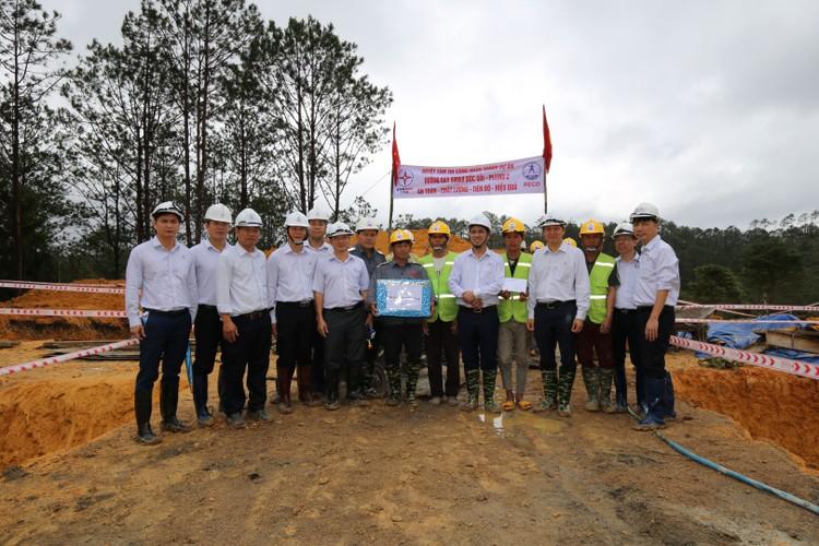 Phó TGĐ EVNNPT Bùi Văn Kiên kiểm tra tiến độ ĐZ 500 kV Dốc Sỏi – Pleiku 2 ảnh 7