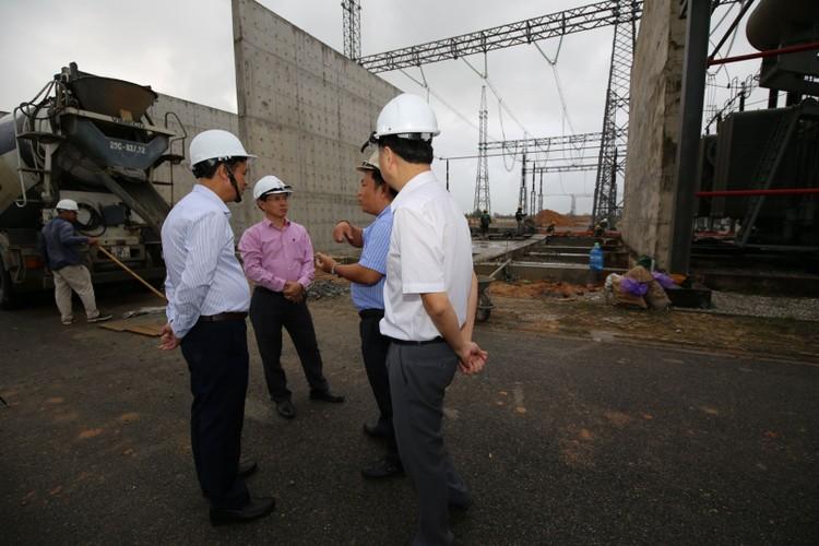 Phó TGĐ EVNNPT Bùi Văn Kiên kiểm tra tiến độ ĐZ 500 kV Dốc Sỏi – Pleiku 2 ảnh 9