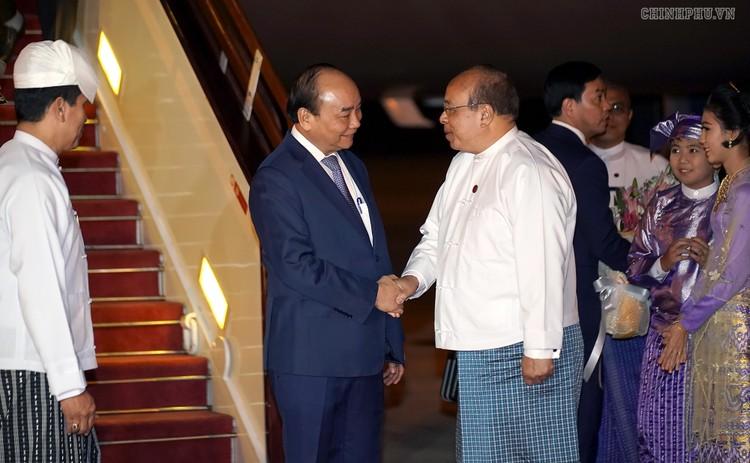 Thủ tướng bắt đầu thăm chính thức Myanmar ảnh 2