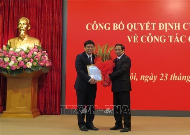 Đồng chí Nguyễn Đắc Vinh giữ chức Phó Chánh Văn phòng Trung ương Đảng ảnh 1