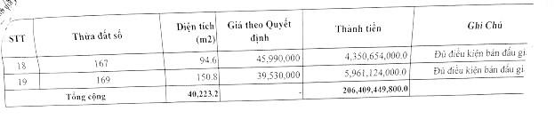 Ngày 2/4/2020, đấu giá quyền sử dụng đất tại TP Yên Bái, tỉnh Yên Bái ảnh 5