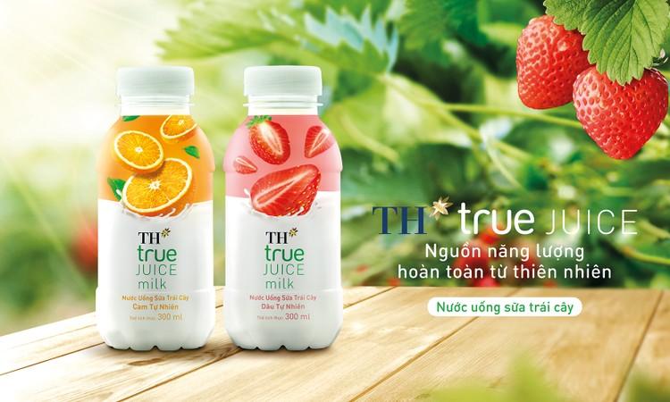 Nước uống sữa trái cây TH – nguồn năng lượng từ thiên nhiên cho người tiêu dùng trẻ ảnh 1