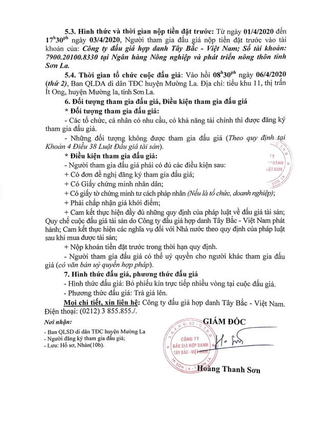 Ngày 6/4/2020, đấu giá xe ô tô Toyota tại tỉnh Sơn La ảnh 2