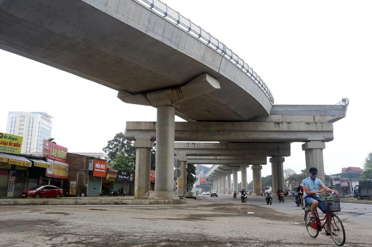 Metro Nhổn - ga Hà Nội thi công xong đoạn trên cao ảnh 1