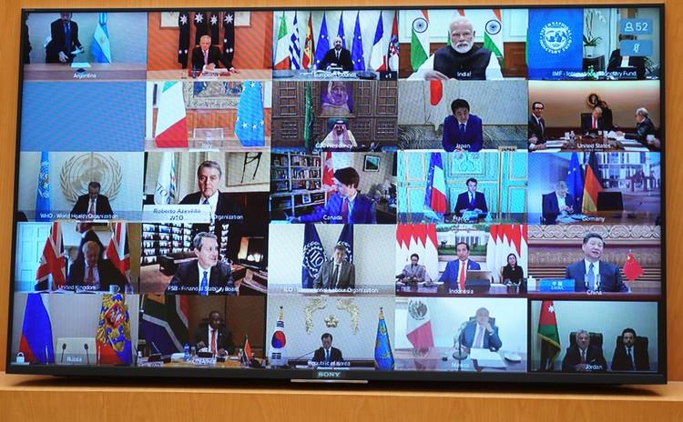 Thủ tướng dự họp thượng đỉnh trực tuyến G20 ứng phó COVID-19 ảnh 2