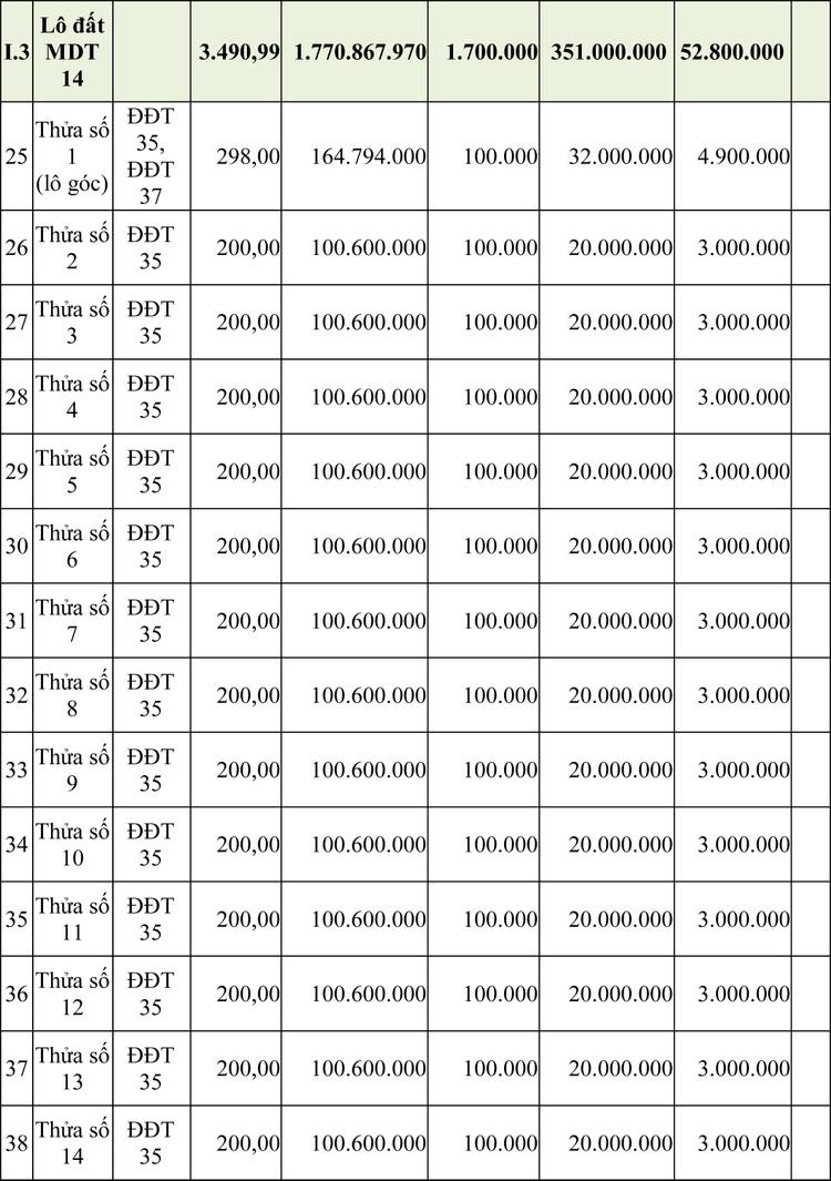 Ngày 16/4/2020, đấu giá quyền sử dụng đất tại huyện Ia H'Drai, tỉnh Kon Tum ảnh 3