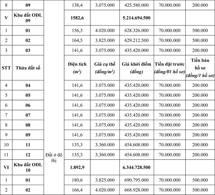 Ngày 19/4/2020, đấu giá quyền sử dụng đất tại huyện Mộc Châu, tỉnh Sơn La ảnh 4