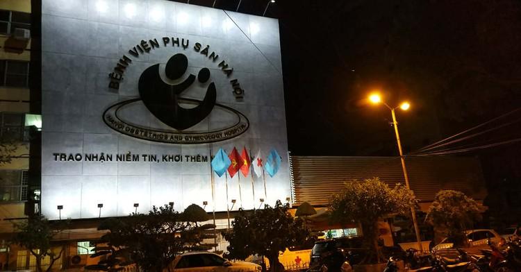 63 nhân viên y tế BV Phụ sản Hà Nội cách ly, không có chuyện phong toả toàn bệnh viện ảnh 1