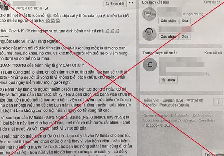 Hà Nội: Sẽ phạt tù người tung tin giả về Covid-19 ảnh 1
