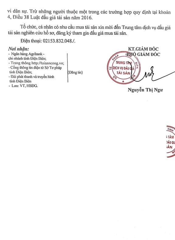Ngày 24/4/2020, đấu giá lô xe ô tô tại tỉnh Điện Biên ảnh 2
