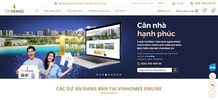 Vinhomes ra mắt Sàn giao dịch bất động sản trực tuyến ảnh 1