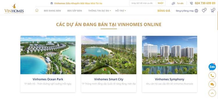 Vinhomes ra mắt Sàn giao dịch bất động sản trực tuyến ảnh 2