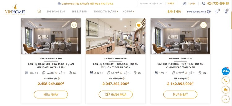Vinhomes ra mắt Sàn giao dịch bất động sản trực tuyến ảnh 3