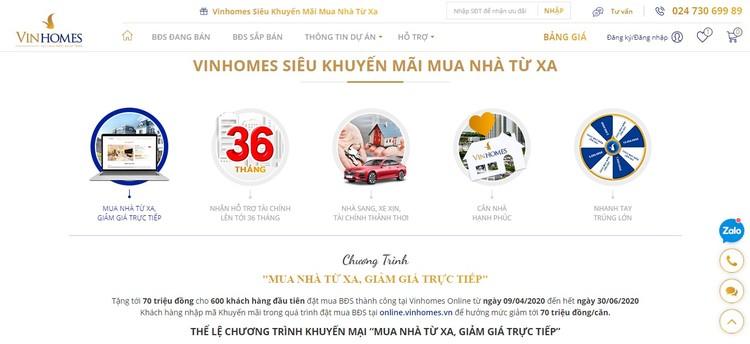 Vinhomes ra mắt Sàn giao dịch bất động sản trực tuyến ảnh 5