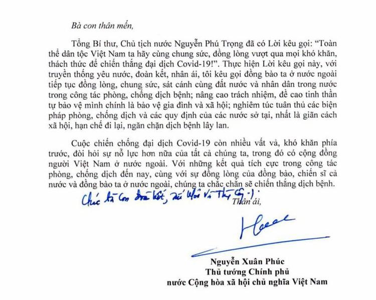Thư của Thủ tướng gửi cộng đồng người Việt Nam ở nước ngoài ảnh 2