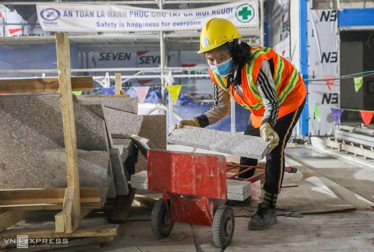 TPHCM: Công nhân metro làm việc trong Covid-19 ảnh 9