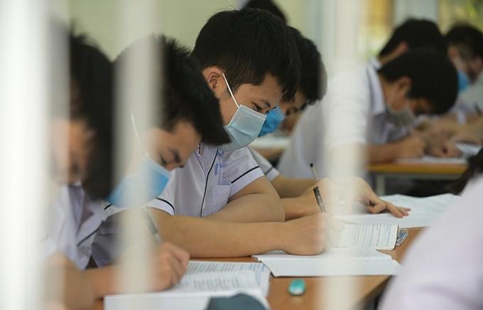 Học sinh Thanh Hóa trở lại trường ảnh 2