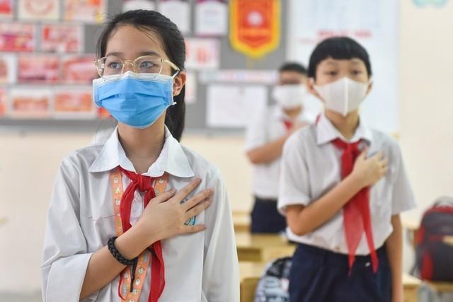 Hà Nội: Gần 1.900 trường mầm non, tiểu học đón học sinh trở lại ảnh 2