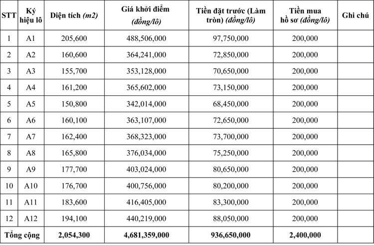 Ngày 11/6/2020, đấu giá quyền sử dụng đất tại huyện Krông Nô, tỉnh Đăk Nông ảnh 1