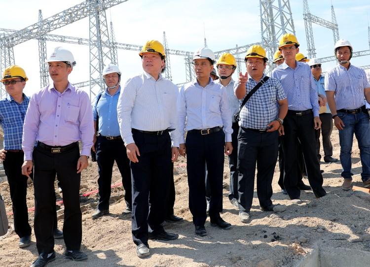 TGĐ EVNNPT Nguyễn Tuấn Tùng: Yêu cầu đóng điện GĐ 1 TBA 220kV Ninh Phước và đấu nối đúng tiến độ ảnh 2