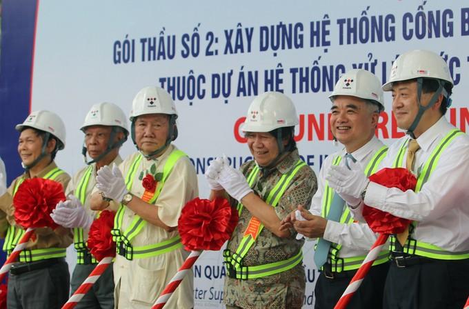 Hà Nội: Làm cống ngầm gom nước thải sông Tô Lịch ảnh 1