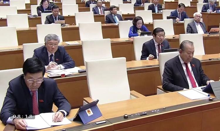 Trực tiếp Kỳ họp thứ 9, Quốc hội khóa XIV ảnh 4