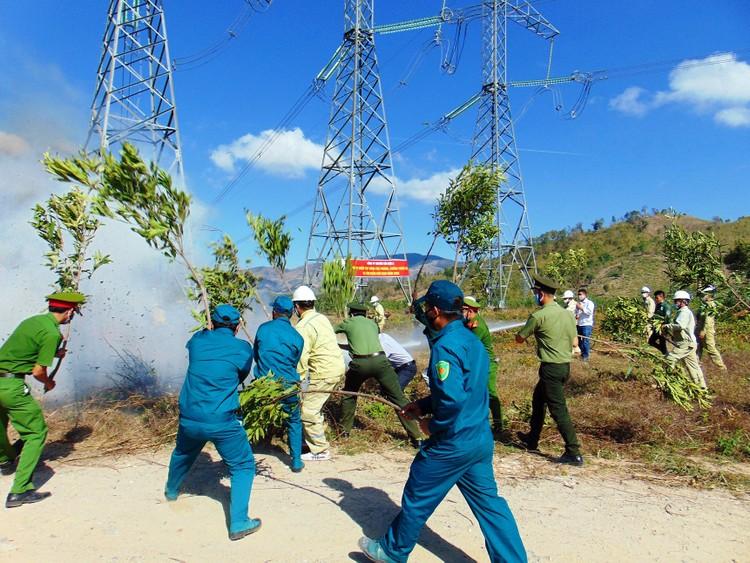 EVNNPT nỗ lực đảm bảo vận hành an toàn lưới điện truyền tải mùa nắng nóng ảnh 1