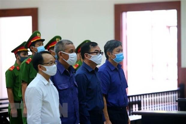 Y án sơ thẩm với nguyên Giám đốc Sở Tài nguyên và Môi trường TP.HCM ảnh 1
