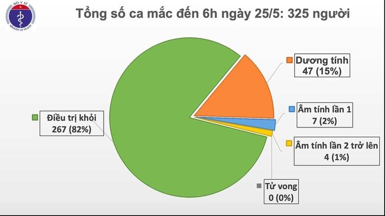 Dịch COVID-19 (Sáng 25/5): 39 ngày Việt Nam không có ca mắc mới ở cộng đồng và 11 ca đang điều trị đã âm tính ảnh 2