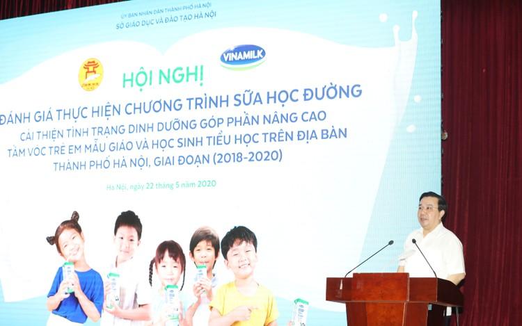 Hơn 1 triệu trẻ em Hà Nội được thụ hưởng Sữa học đường ảnh 1