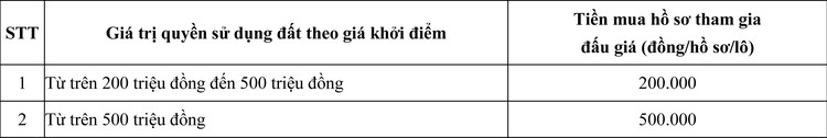 Ngày 27/6/2020, đấu giá quyền sử dụng đất tại thị xã Hương Thủy, tỉnh Thừa Thiên Huế ảnh 3