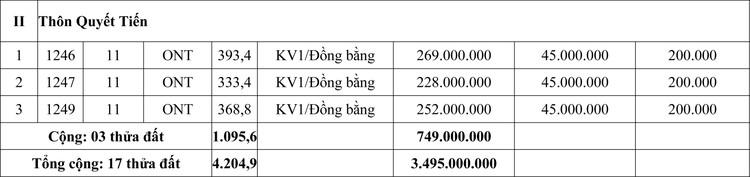 Ngày 19/6/2020, đấu giá quyền sử dụng đất tại huyện Quảng Ninh, tỉnh Quảng Bình ảnh 2