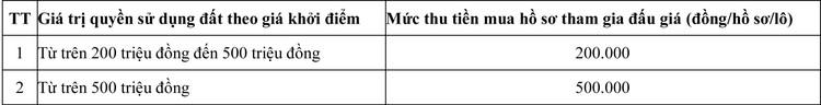 Ngày 10/7/2020, đấu giá quyền sử dụng đất tại huyện Quảng Điền, tỉnh Thừa Thiên Huế ảnh 3