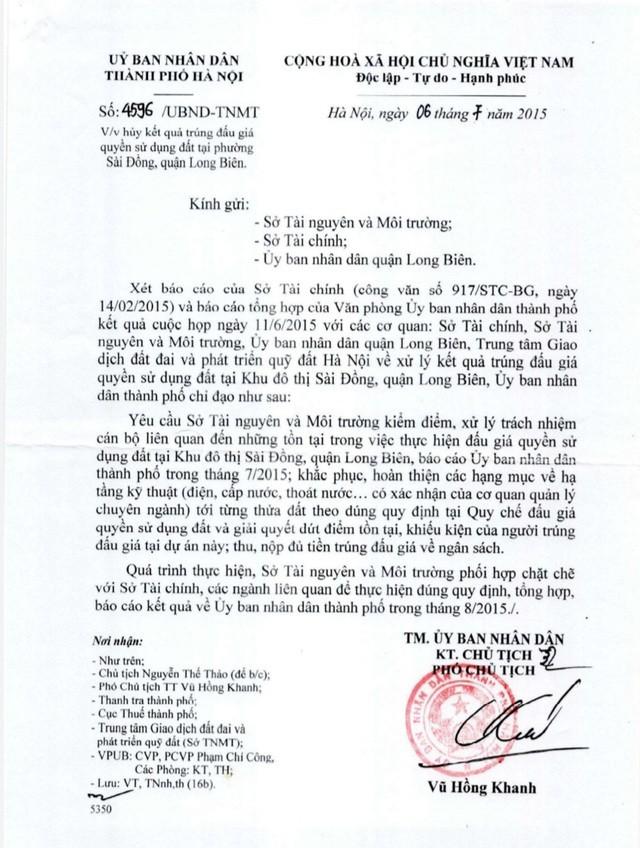 Hà Nội: 8 người dân vất vả đòi đất trúng đấu giá từ… 11 năm trước ảnh 2