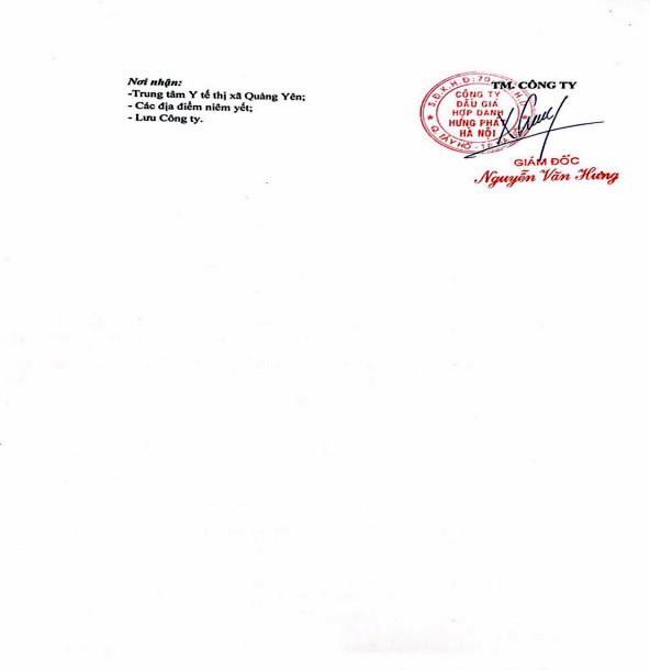 Ngày 18/6/2020, đấu giá máy móc thiết bị tại tỉnh Quảng Ninh ảnh 2