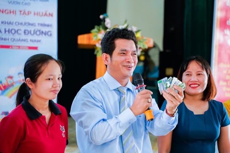 Sữa học đường Quảng Nam: Học sinh miền núi được uống sữa miễn phí ảnh 5