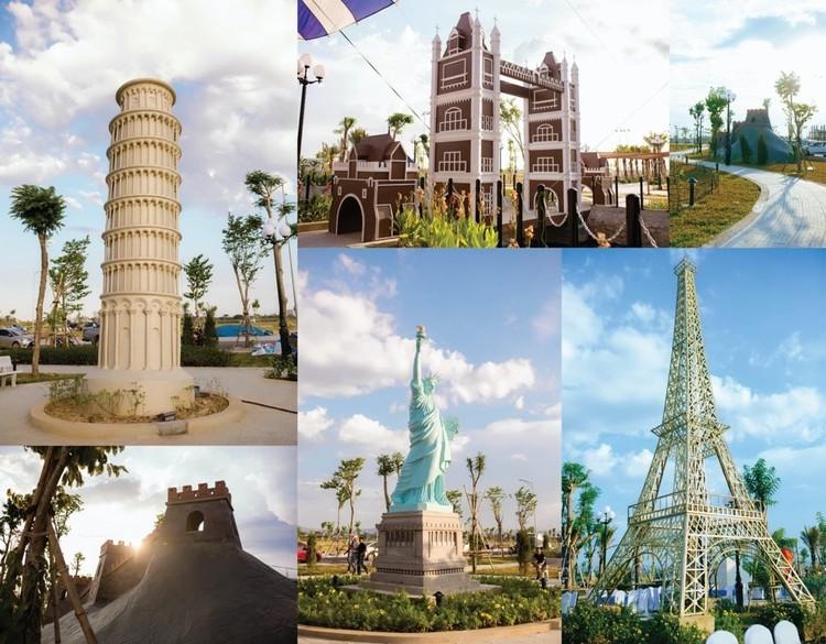 Kỳ quan khắp thế giới được tái hiện tại Công viên Năm Châu – Nghệ An ảnh 6