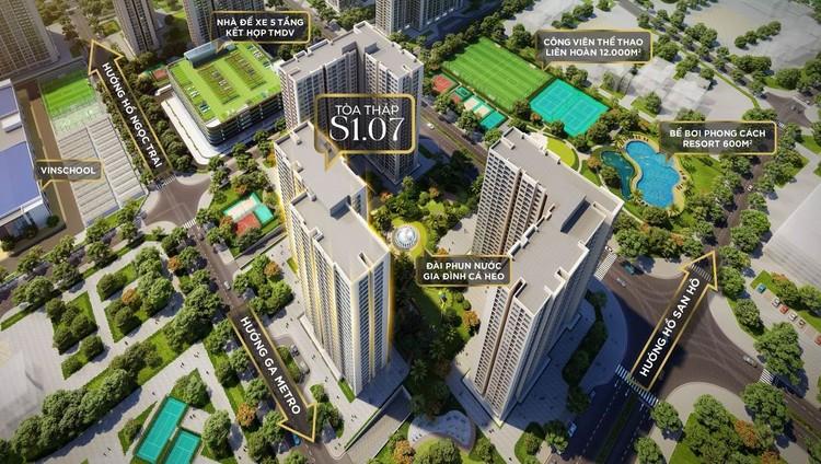 """Mở bán tòa tháp S1.07 – Nơi """"An lành sống xanh – An tâm giáo dục"""" của Vinhomes Ocean Park ảnh 3"""