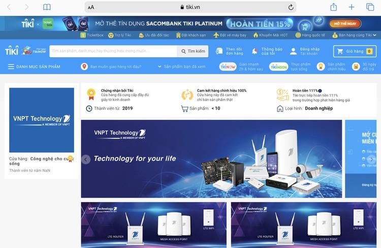 Sản phẩm công nghệ Việt của VNPT Technology lên sàn Tiki, Shopee và Lazada ảnh 2