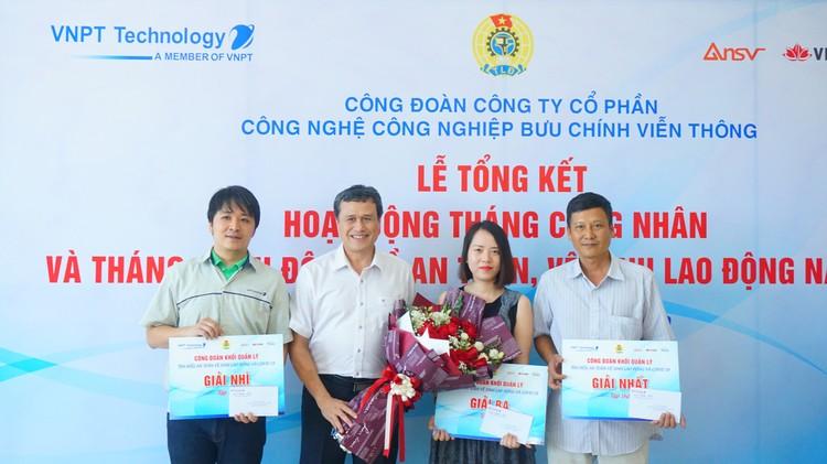 Công đoàn VNPT Technology trao thưởng cho công nhân tiêu biểu ảnh 2