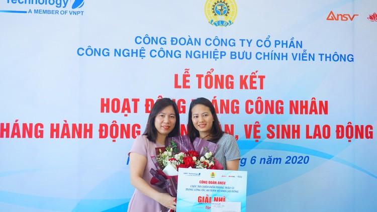 Công đoàn VNPT Technology trao thưởng cho công nhân tiêu biểu ảnh 3
