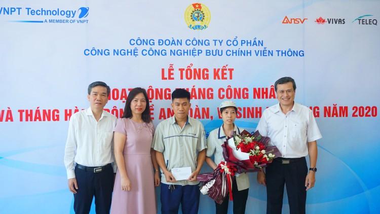 Công đoàn VNPT Technology trao thưởng cho công nhân tiêu biểu ảnh 4