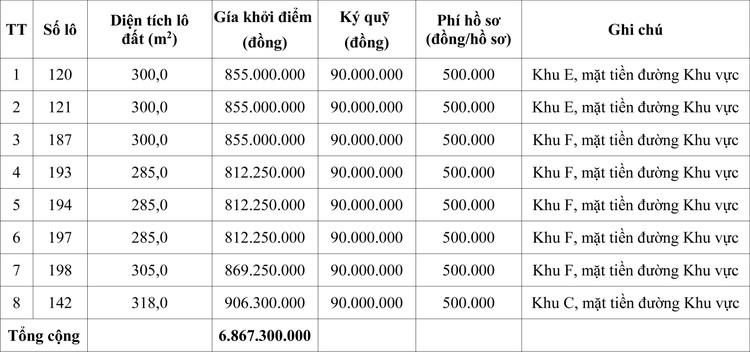 Ngày 24/7/2020, đấu giá quyền sử dụng đất tại huyện Hải Lăng, tỉnh Quảng Trị  ảnh 1